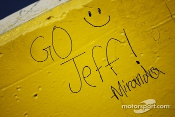 A message for Jeff Gordon