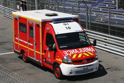 Sergio Perez, Sauber F1 Team has been taken to the hospital