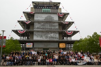 Indy 500 veterans photoshoot