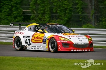 #43 Team Sahlen Mazda RX-8: Joe Nonnamaker, Wayne Nonnamaker, Will Nonnamaker