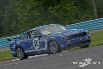 #2 Jim Click Racing Mustang Boss 302 R Jim Click, Mike McGovern