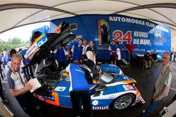 #10 Team Oreca Matmut Peugeot 908 HDI-FAP