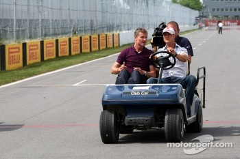 David Coulthard and Michael Schumacher, Mercedes GP