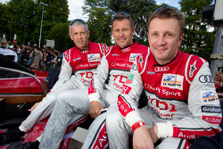 Rinaldo Capello, Tom Kristensen and Allan McNish