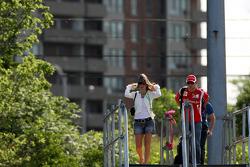 Felipe Massa, Scuderia Ferrari and his wife Rafaela Bassi