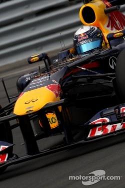 Sebastian Vettel was third this afternoon
