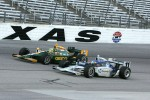 Davey Hamilton, Dreyer & Reinbold Racing and Tony Kanaan, KV Racing Technology-Lotus