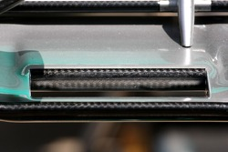 Mercedes GP Technical detail front wing detail