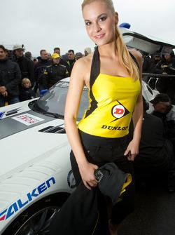 A charming Dunlop girl