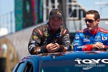Robby Gordon and Casey Mears