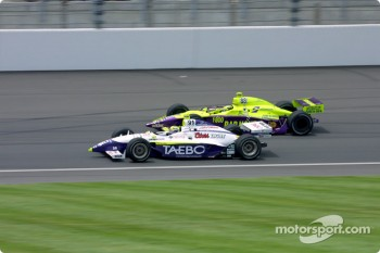 Buddy Lazier and Airton Dar
