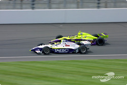 Buddy Lazier and Airton Daré