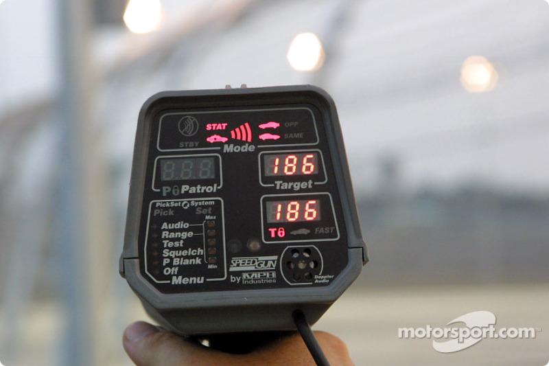 Race speeds