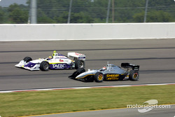 Buddy Lazier and Eddie Cheever