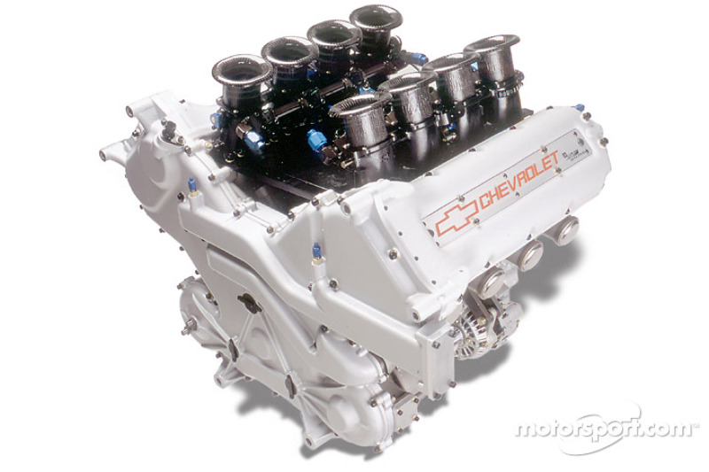 The new 3.5-liter Chevy Indy V9