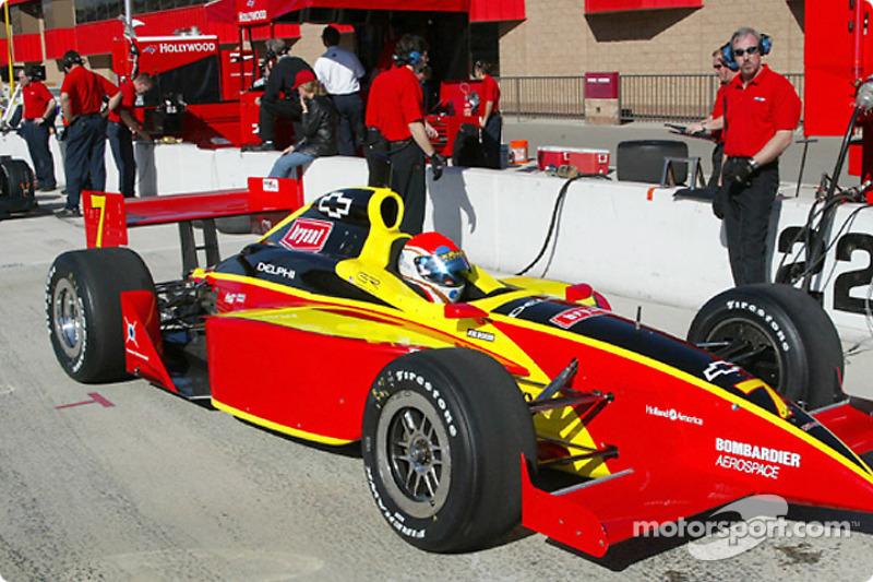 Kelley Racing's Greg Ray