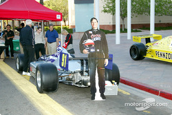 Photo display of Buddy Lazier