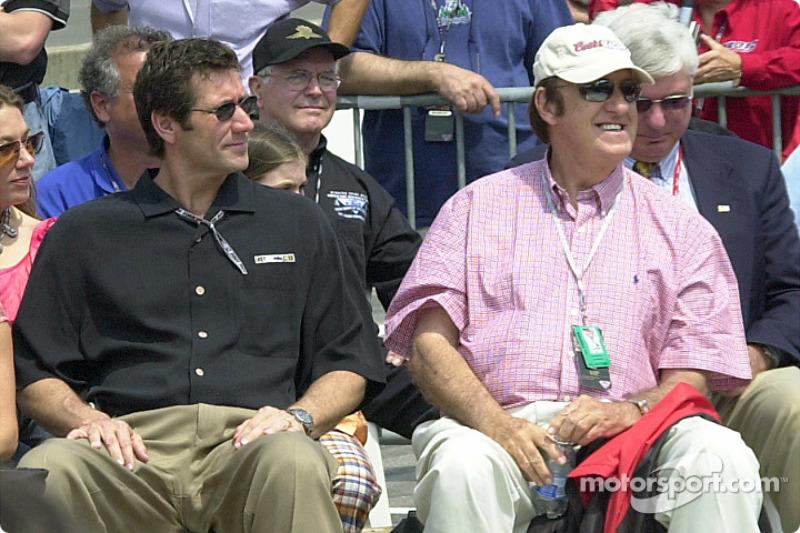 Tony George and Jim Nabors