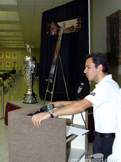 Borg Warner Trophy conference: Helio Castroneves