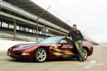 Actor Jim Caviezel will drive the Corvette Pace Car