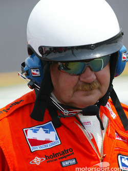 Indy Racing safety crew member