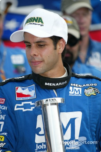 Pole winner Vitor Meira