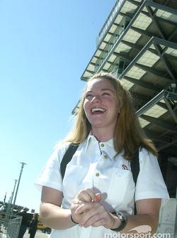 IndyCar driver Sarah Fisher