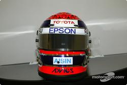 Shigeaki Hattori's helmet
