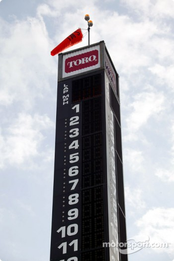 Scoring tower