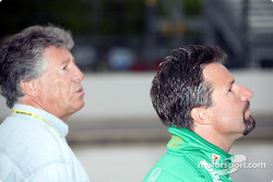 Mario and Michael Andretti