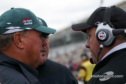 A.J. Foyt and Brian Barnhardt