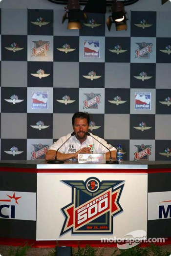 Press conference: Michael Andretti