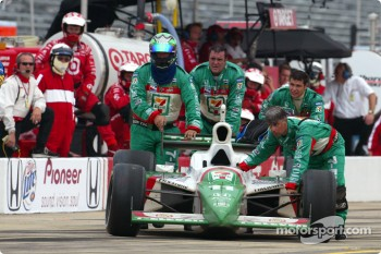 Race over for Tony Kanaan