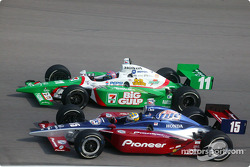 Kenny Brack and Tony Kanaan