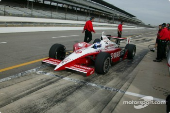Scott Dixon already has started preparations for the 2004 Indianapolis 500