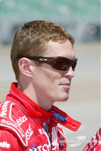 Scott Dixon, driver of the #9 Target Chip Ganassi Racing