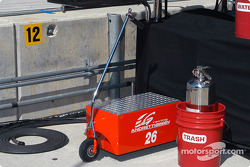 Andretti Green Racing pit equipment