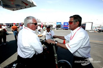 Roger Bailey and Al Unser Sr.