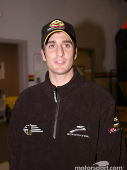 Panther Racing driver Tomas Scheckter
