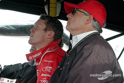 Scott Dixon and Mike Hull