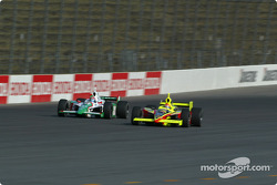 Tony Kanaan and Scott Sharp