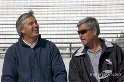 Eddie Cheever and Al Unser Sr.