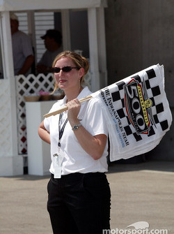 Indianapolis Motor Speedway staff member