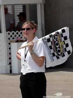 Indianapolis Motor Speedway staff member