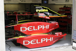 Side pods from the #8 Dallara Toyota