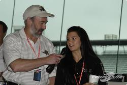 Pat Sullivan interviews Danica Patrick