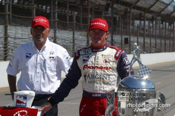 Bobby Rahal and Buddy Rice