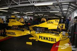 Panther Racing garage area