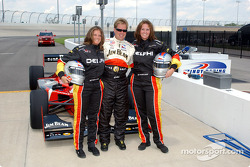 Indy Experience two-seater IndyCar: Davey Hamilton and two guests