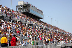 Fans  at The Milwaukee Mile